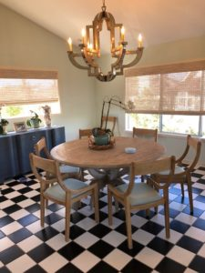 kitchen table - Traditions Interiors-Wilmington, NC