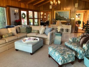 large living space - Traditions Interiors-Wilmington, NC