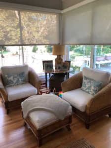 sunroom interior design - Traditions Interiors-Wilmington, NC