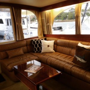 yacht interior design couch - Traditions Interiors-Wilmington, NC
